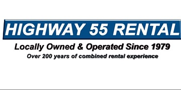HIGHWAY 55 RENTAL & SALES logo