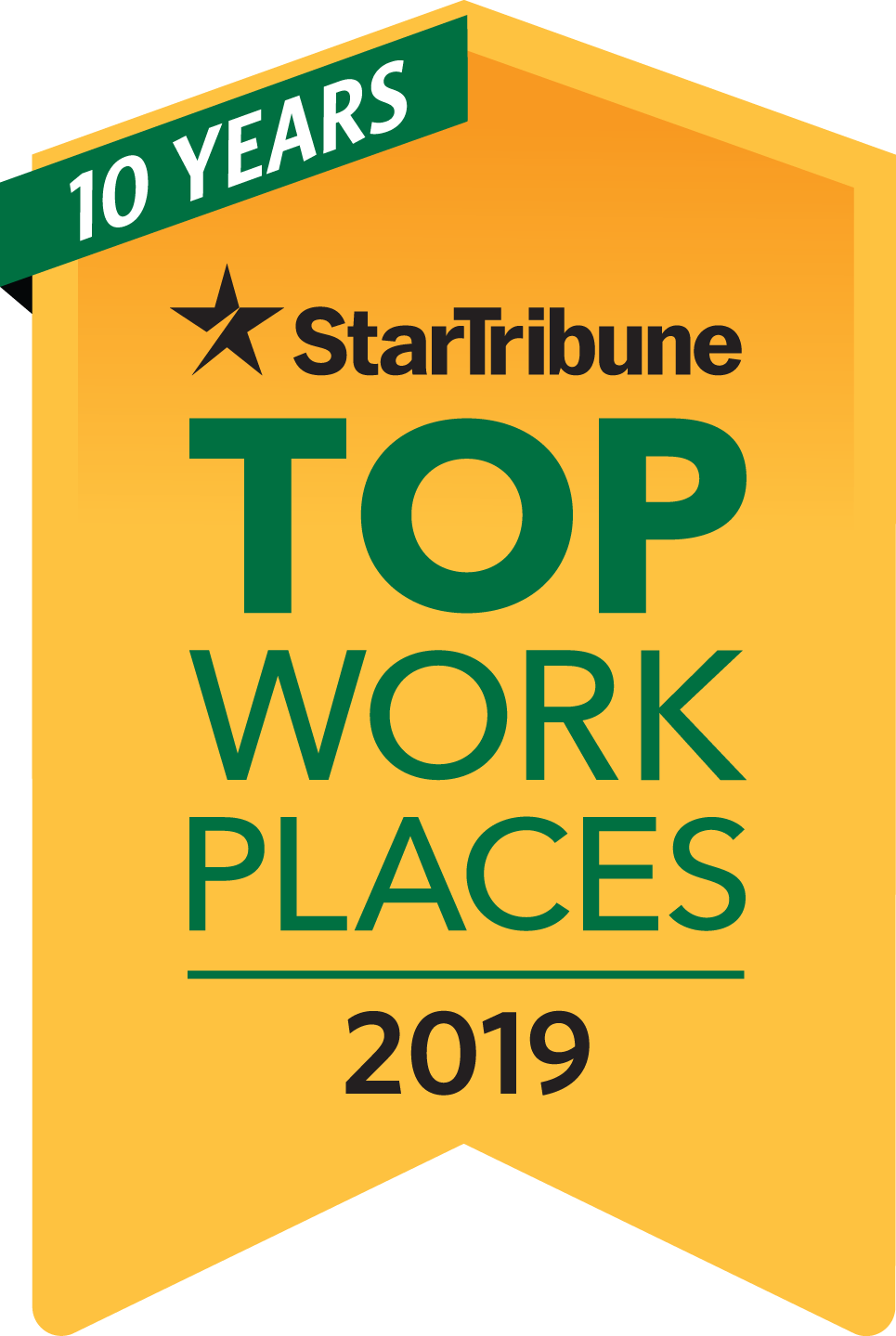 Top Workplaces Logo 2019