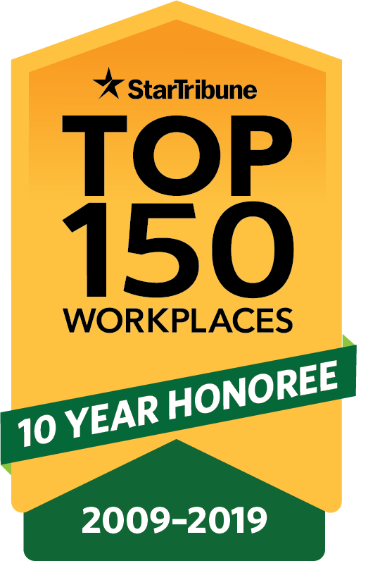 Top Workplaces 10 Year Honoree
